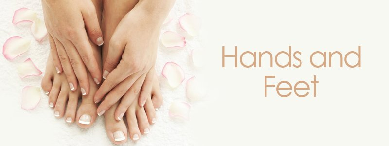 hands-and-feet-services at The Retreat hair salon