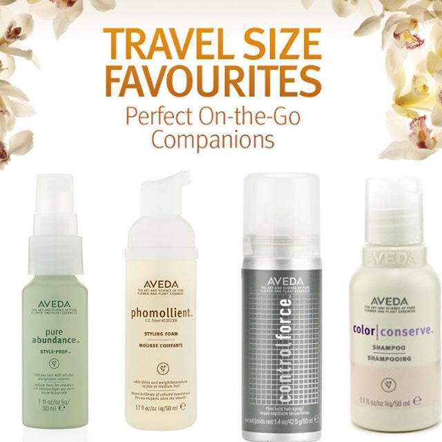 Travel Size Hair & Beauty Products