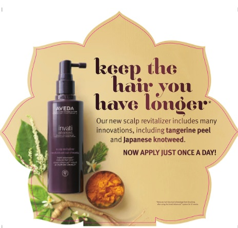 NEW Invati Advanced Scalp Revitiliser – solutions for thinning hair