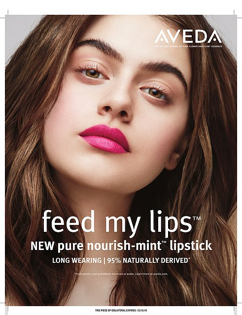 aveda feed my lips at the retreat hair salon farnham