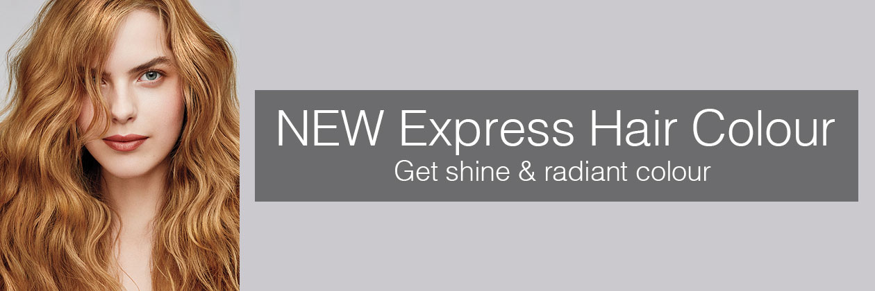 NEW Hair Colour with Benefits – Express Colour Glossing
