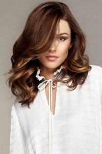 brown hair colour at the retreat hair salon surrey